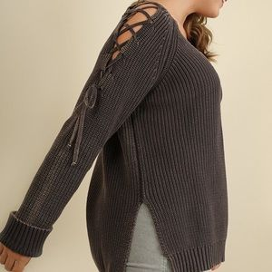Umgee Mineral Washed Sweater